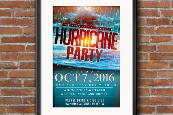 hurricane-party-poster